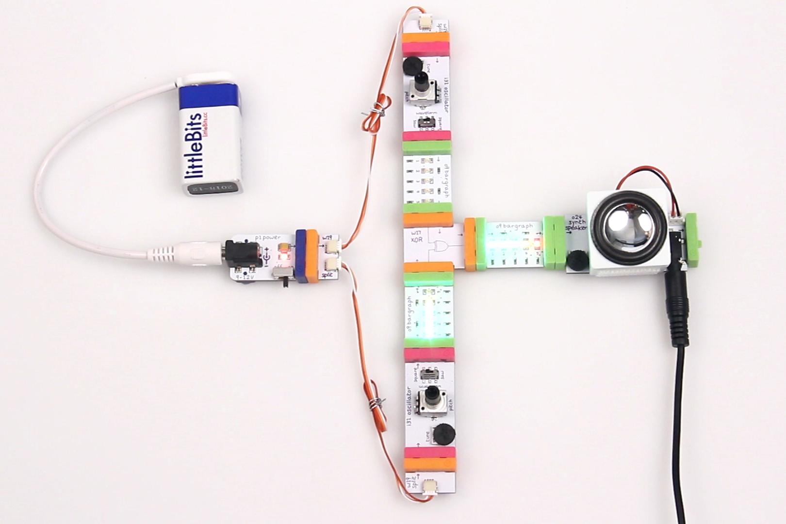 Ring modulation circuit