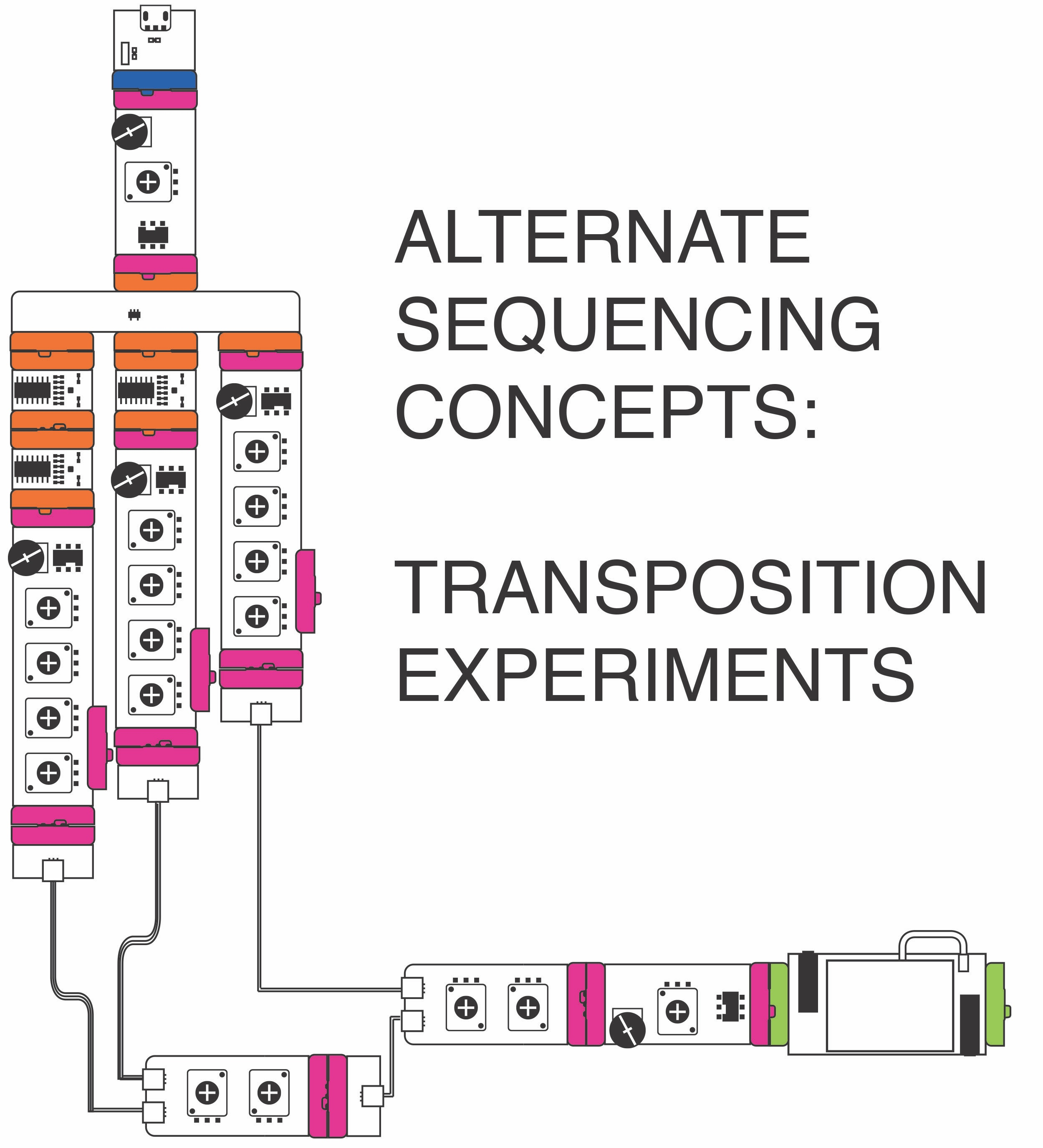 Alternate Sequencing Concepts: Transposition Experiments