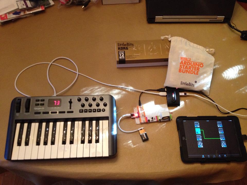 Arduino midi interface for littlebits korg synth kit a