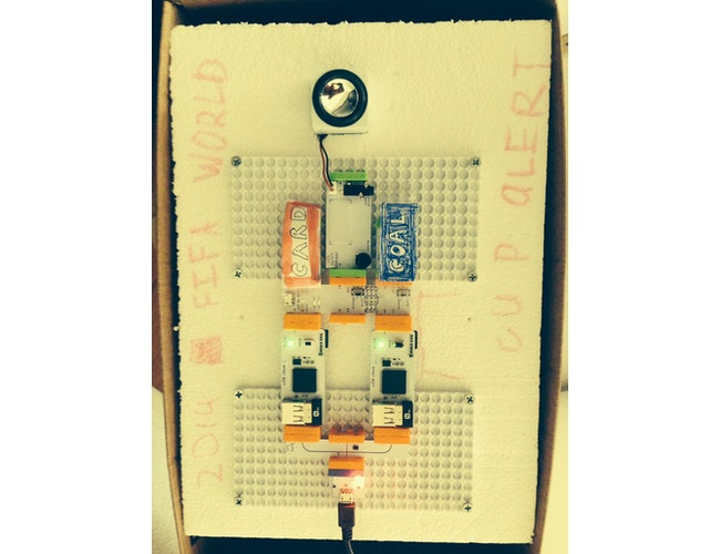 Littlebits cloud photo