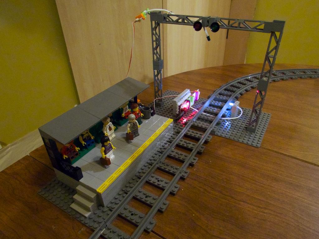 Littlebits railroad 5