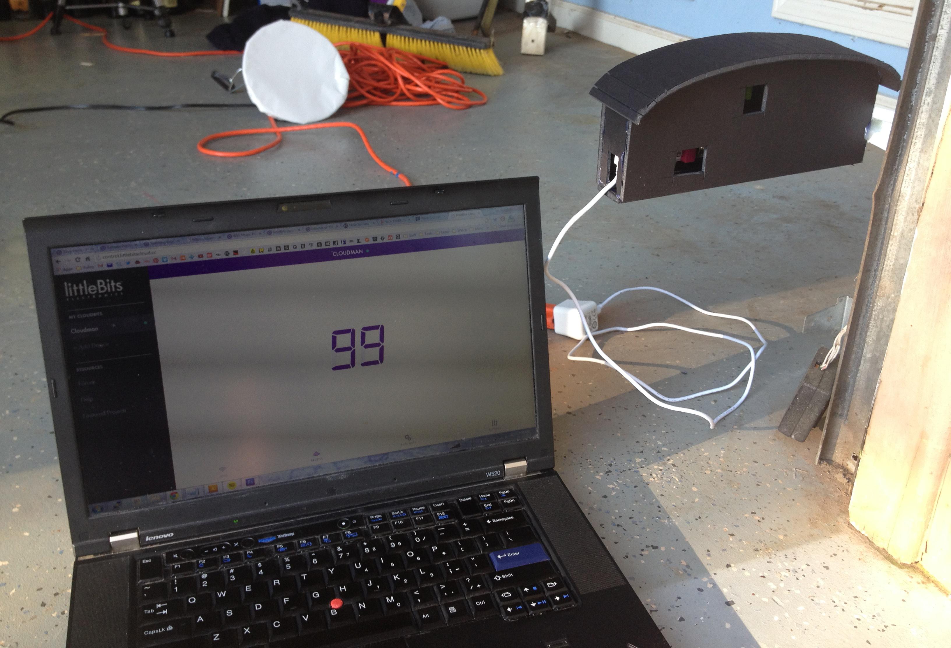 10 & Garage Door Monitor: a littleBits Project by Lmsbush pezcame.com