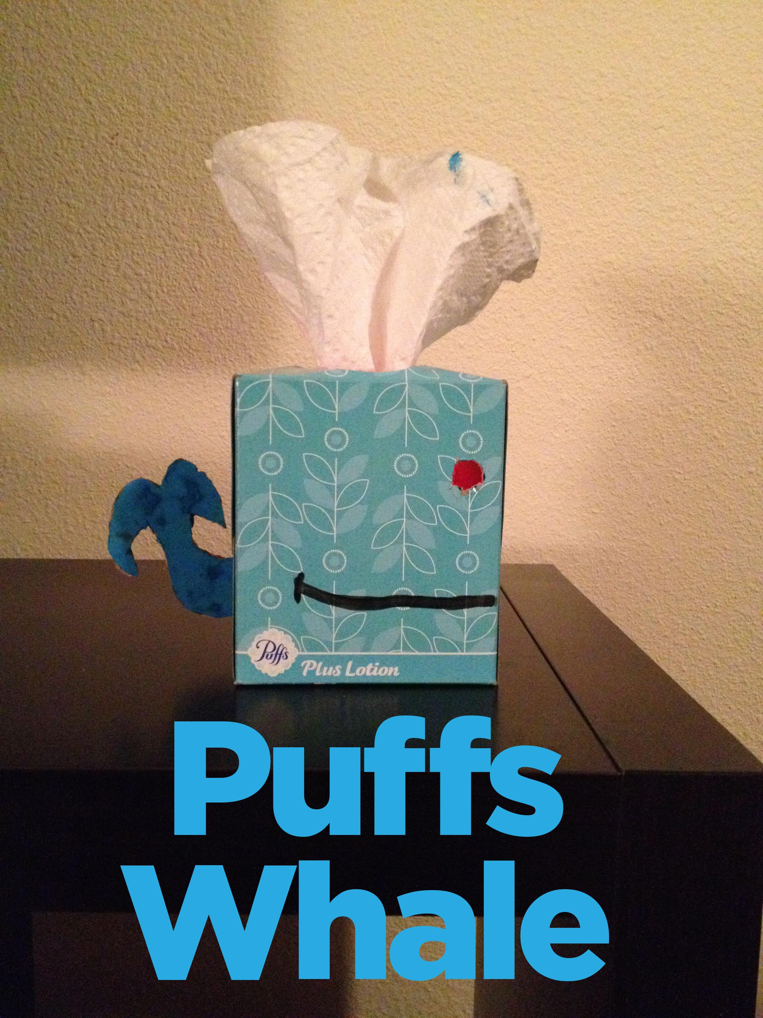 Puffs whale
