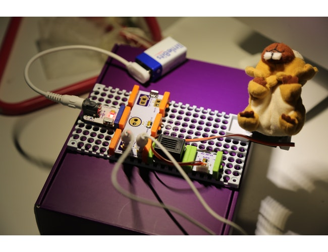 Quizbits A Rule Your Room Kit Invention A Littlebits Project By Cookiehawk