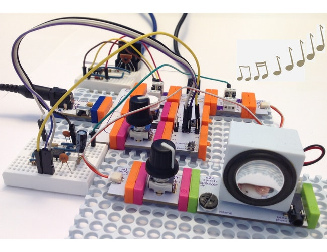 Get your Bach on with the Arduino MIDI organ: a littleBits