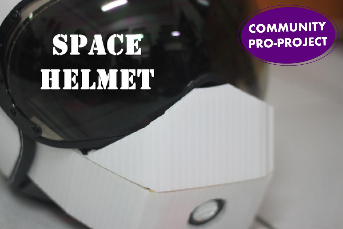 Spacehelmet pro 1