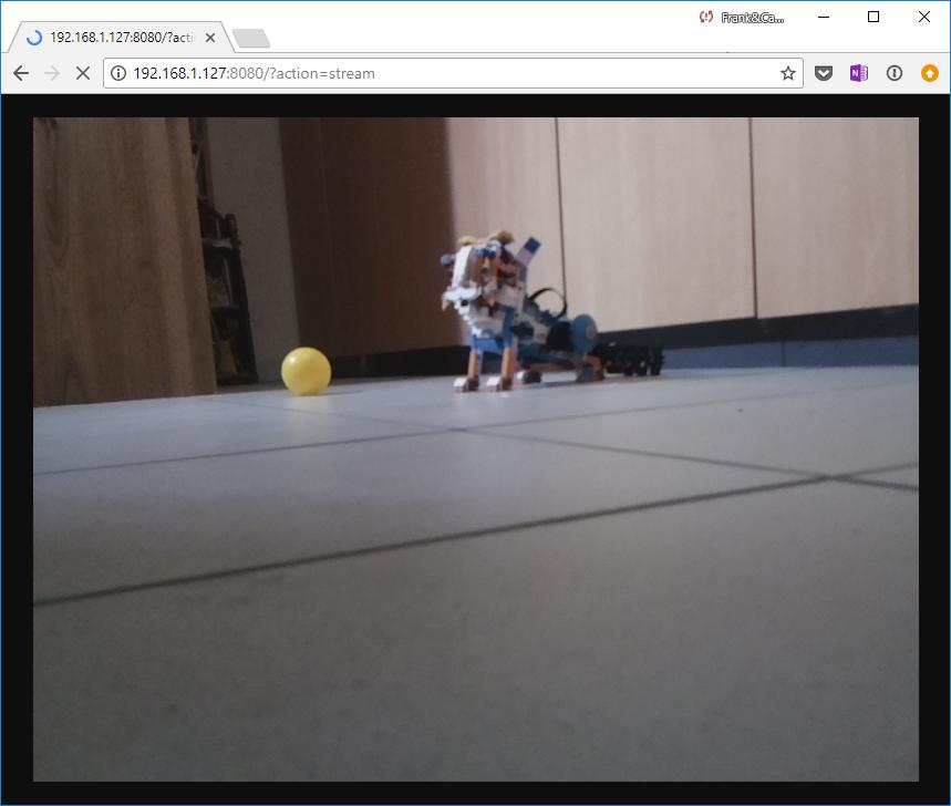 LittlePi ball tracking Rover: a littleBits Project by cfsl