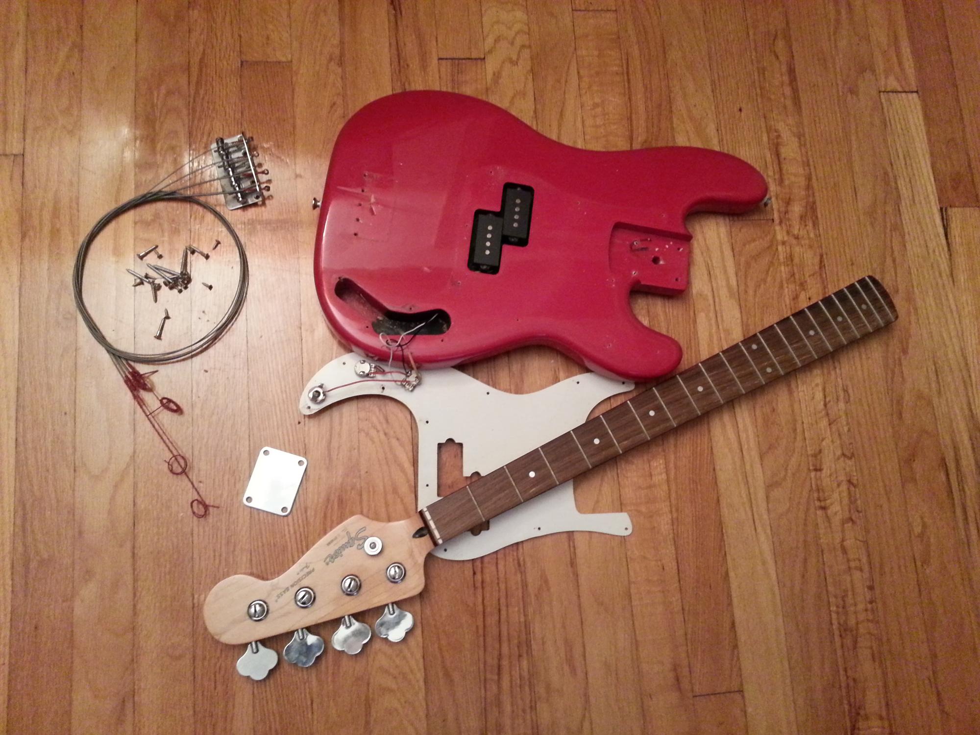 Fender squire precision bas
