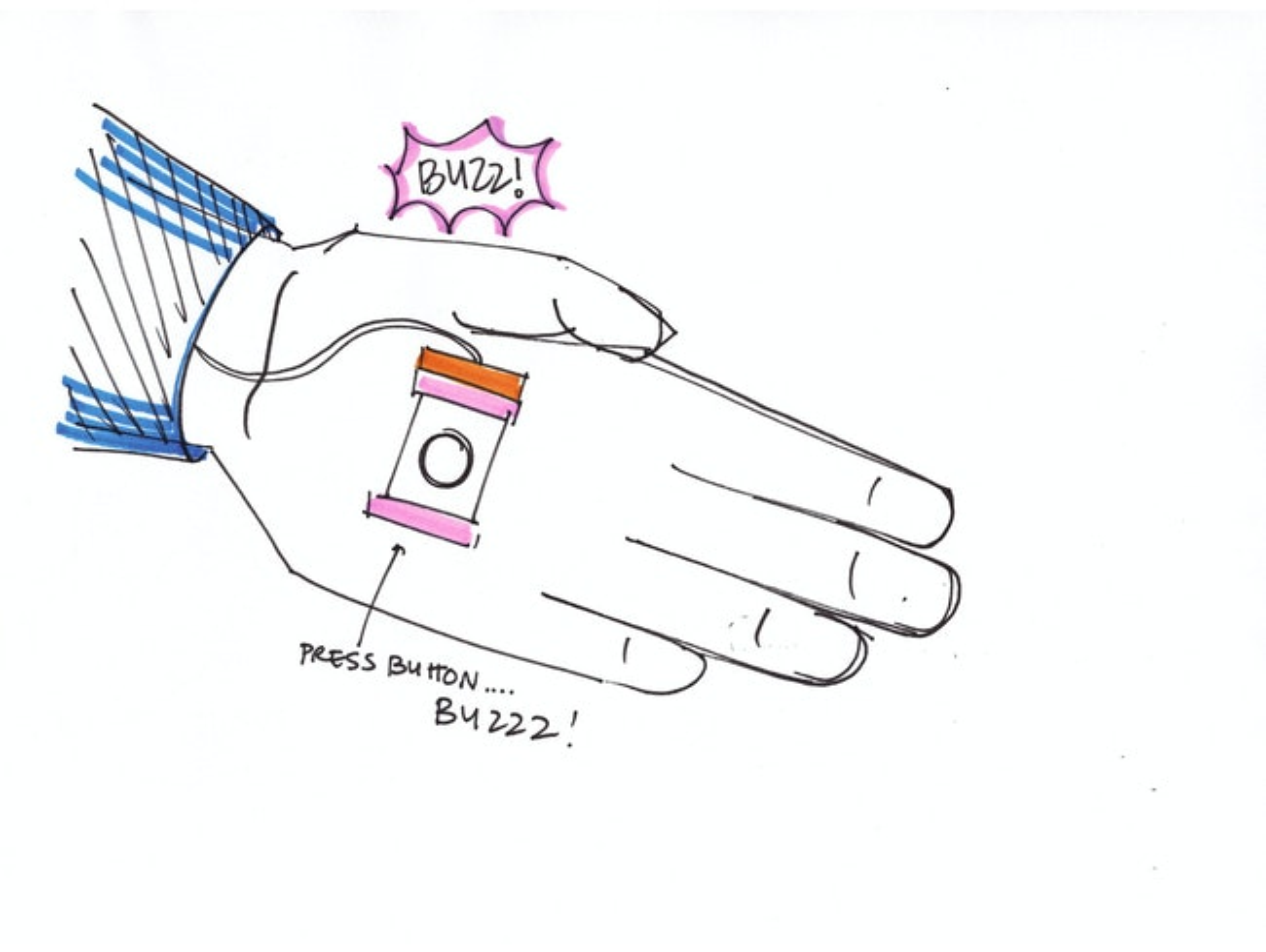 Prank handshake