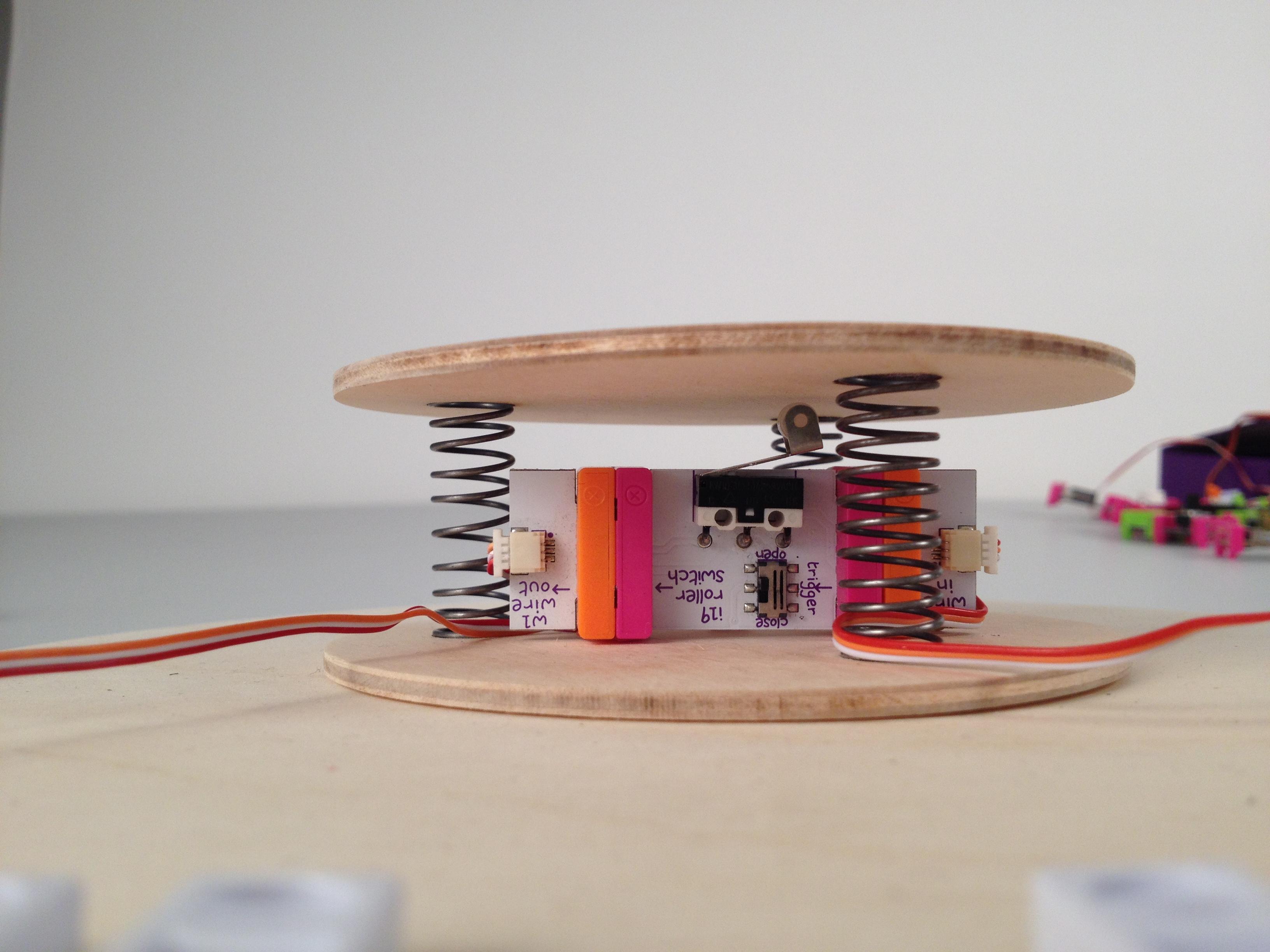 Santa detector mechanism