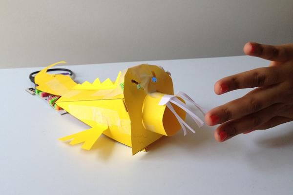 Komodo Dragon Origami | 500x750