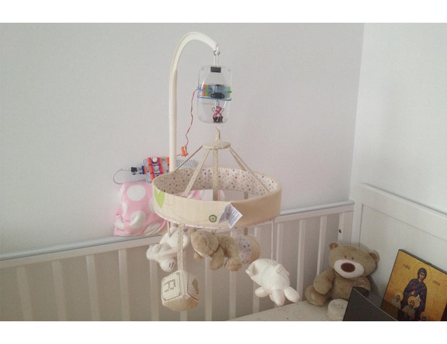 Sound & Motion Activated Baby Mobile: a littleBits Project