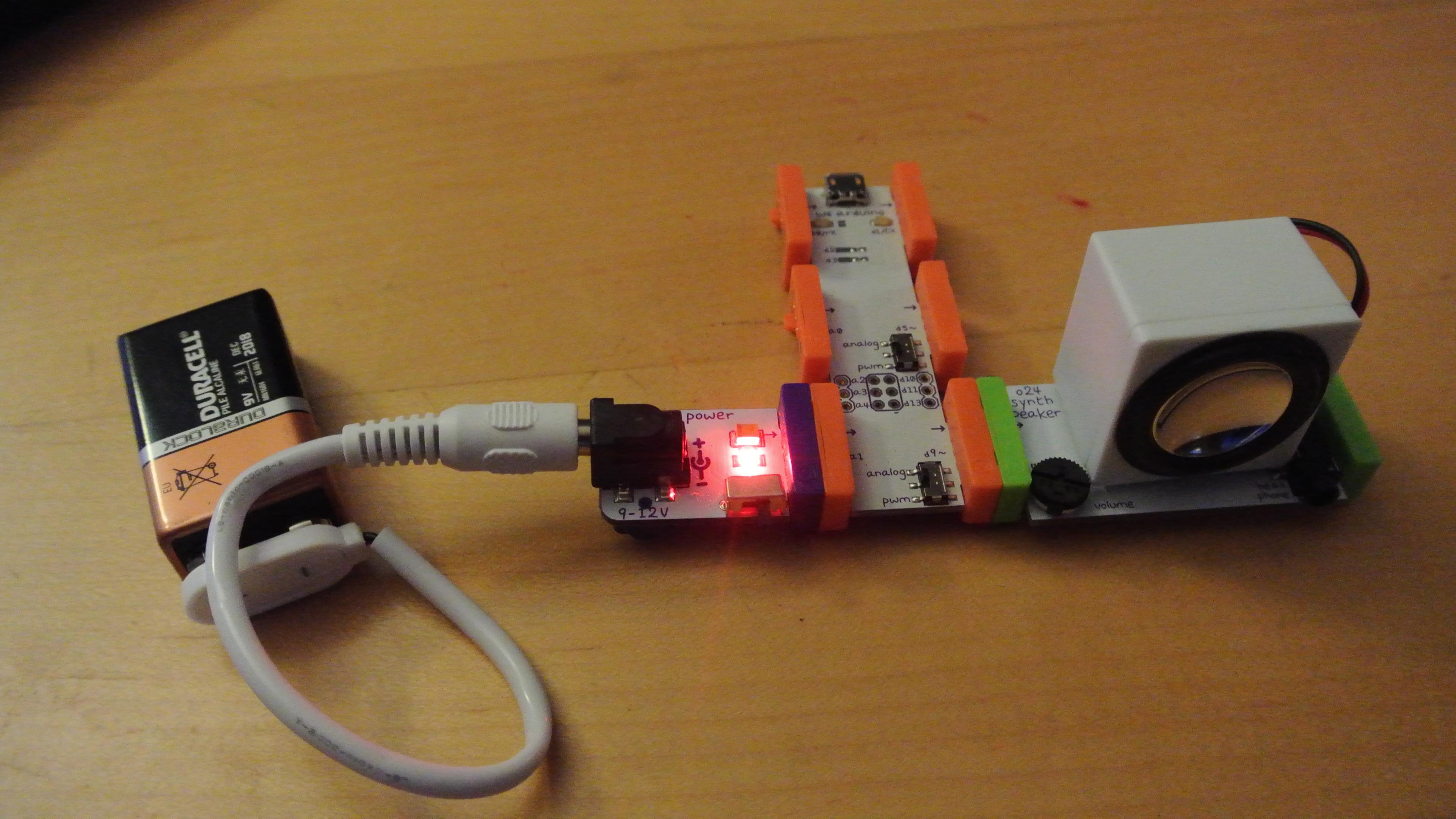 littleBits Birthday Song Cake Topper: a littleBits Project
